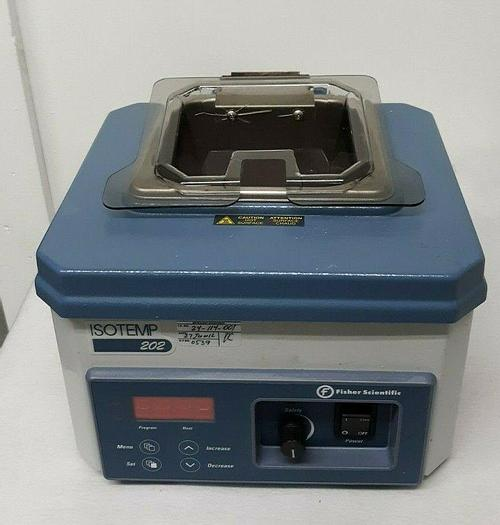 Used Fisher Scientific Isotemp 202 Digital Water Bath