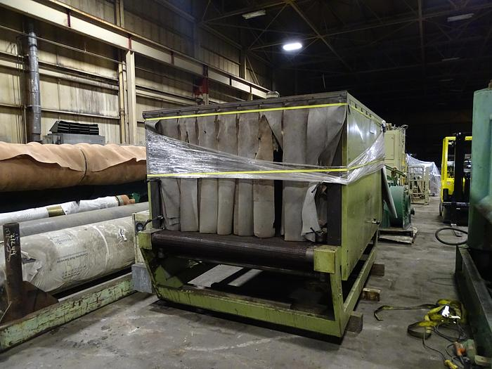 "Used COMIL SHINK HEAT TUNNEL 60"" WIDE X 30"" TALL"