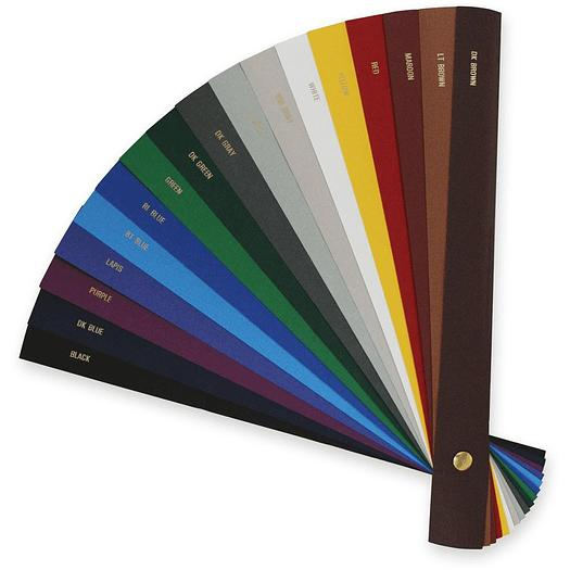 Dark Grey Fastback Binding Linen Super Strips Wide A4 - 300
