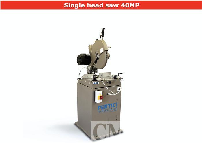 Pertici 40MP Single Head Saw