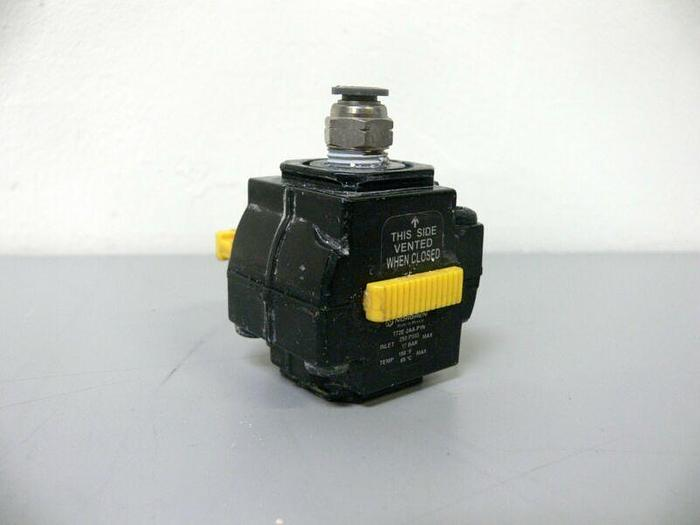 Used Lot of 2 - Norgren T72E-2AA-P1N 250PSIG Shut Off Valve