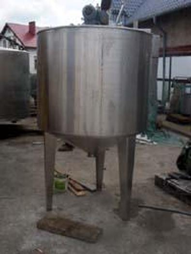 Używane Zbiornik/kocioł procesowy grzejno-chłodzący - nierdzewny