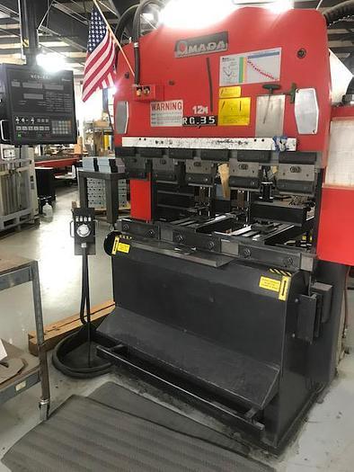1990 38 Ton Amada RG-35 CNC Press Brake