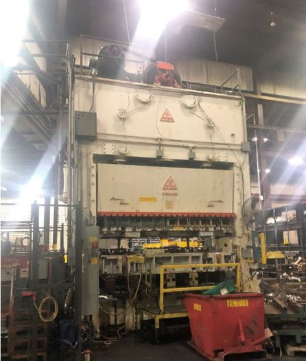 "500 ton 144""x60"" Clearing SSDC Stamping Press"