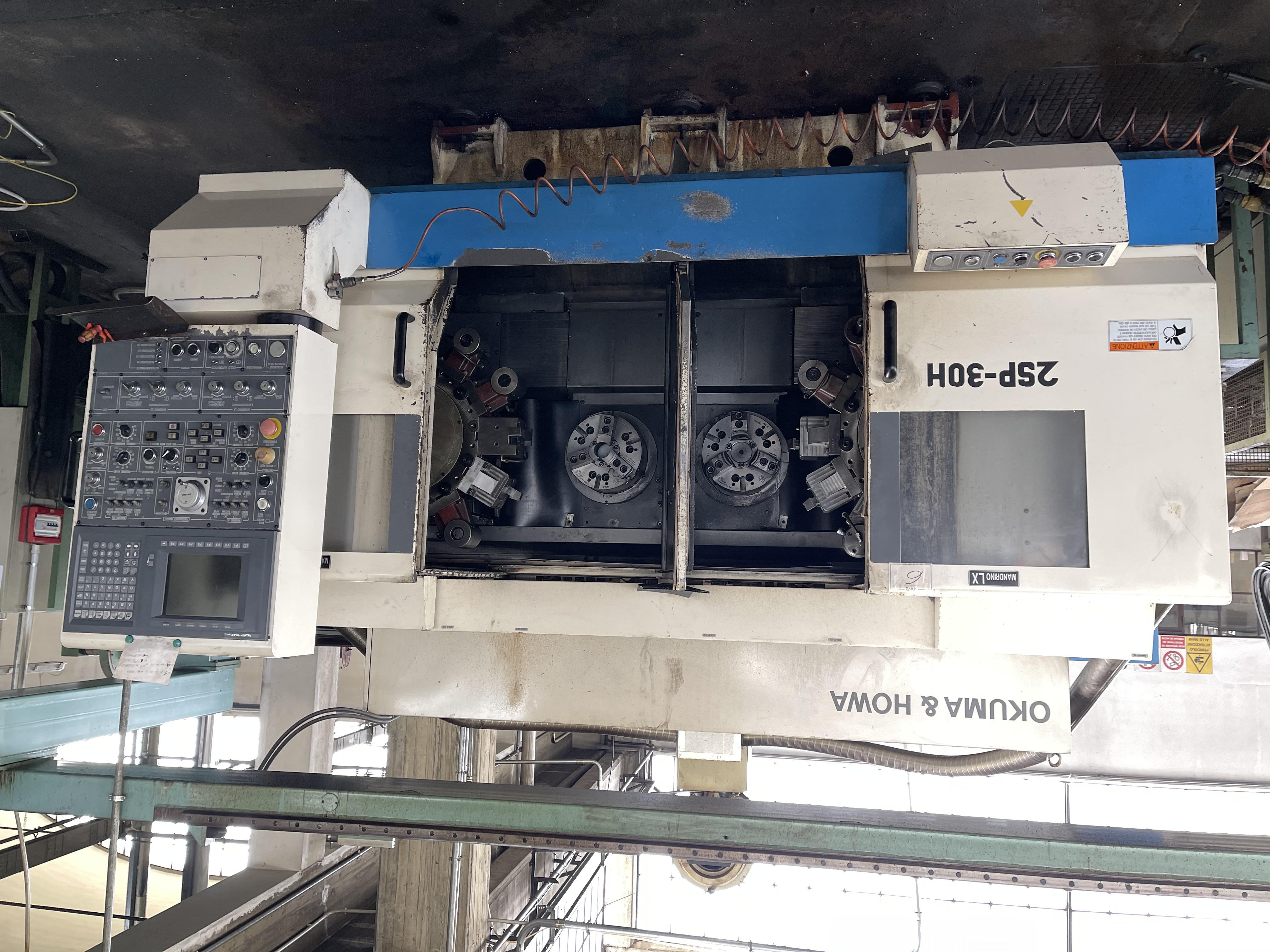 Installata Tornio Cnc a Doppio Mandrino e Doppia Torretta Frontale OKUMA & HOWA 2SP-30H