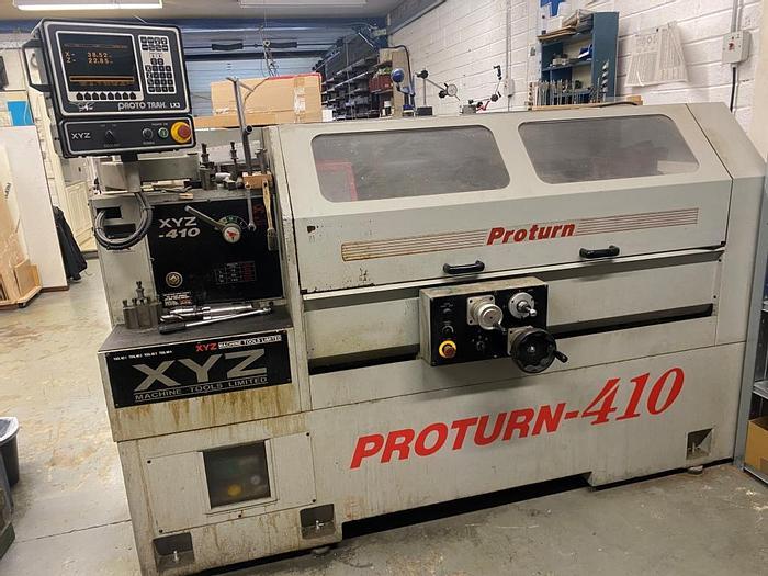 Used 2000 XYZ Proturn 410 CNC Lathe