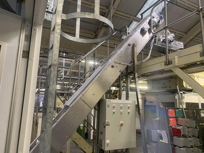 Used 2002 BETTI 1703 Discharge Conveyer with Elevator