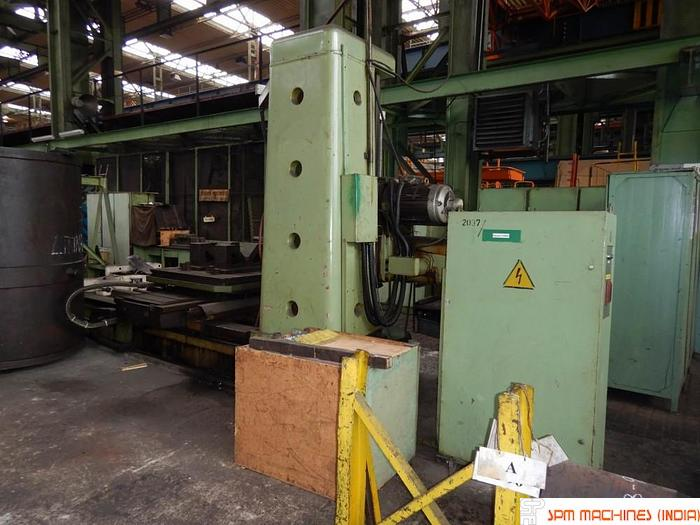 TOS W100A H Boring Machine (Hardened Bed + ISO Taper) - 1982