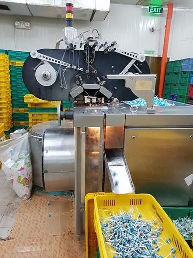 CFS AQUARIUS BU600 LOLLIPOP BUNCH WRAPPING MACHINE