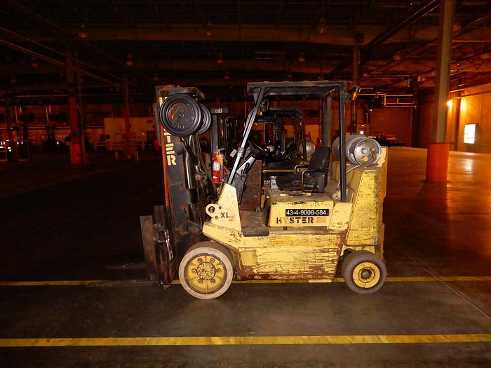 Used 8,000 POUND HYSTER MODEL S80XLBCS FORKLIFT BOX CAR SPECIAL