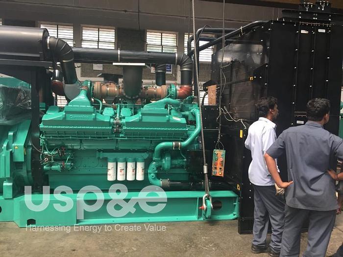 1.1 MW New 2021 Cummins KTA50G3 Diesel Generator