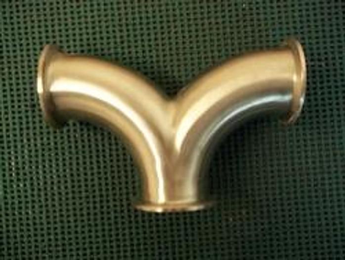 """Used 2 1/2"""" Triclover Wash T - Stainless Fittings Equipment"""