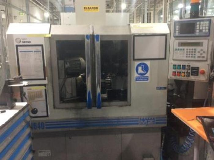 2002 Monnier+Zahner M640 CNC Honing/Grinding Machine