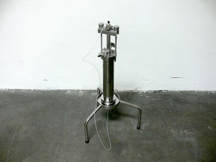 Used GE / BPG FineLINE 70 Stainless Steel Flash Chromatography Column 1.5L 20bar g