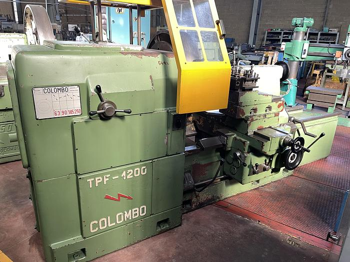 Discrete Tornio Parallelo Semi Frontale COLOMBO TPF-1200