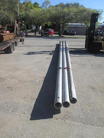 Used 45' Aluminum Light Pole
