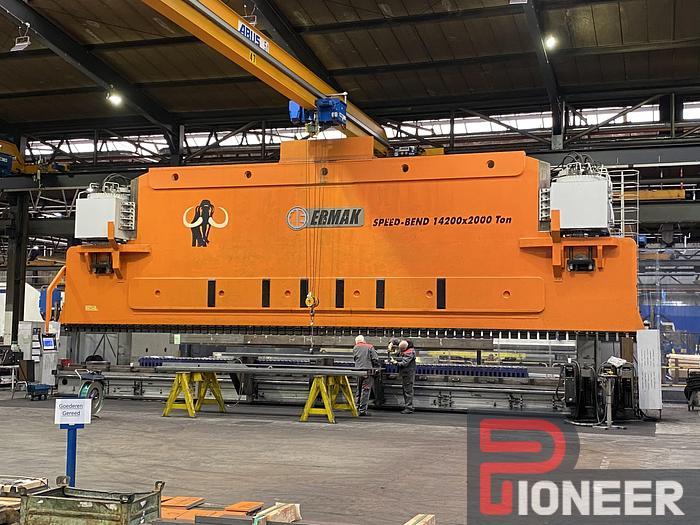 Used 2013  ERMAKSAN Speedbend 14200-200 ton 47'x2200 ton