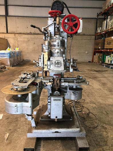 Used METAL BOX MB6 Vacuum CAN SEAMER