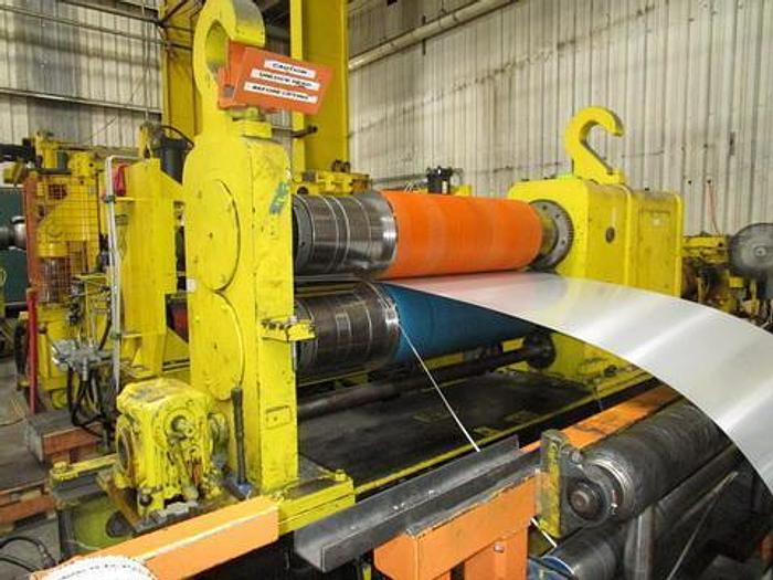"""Used 60"""" Monarch-Stamco Aluminum & Stainless Steel Slitting Line with Strand Extensioner: S-301"""