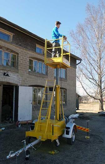 """1985 MBB  Hydraulic work platform MBB G1200 """"Giraffe"""""""