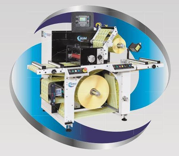 BGM Elite 410 / 450 iSR Label Inspection Slitter Rewinder