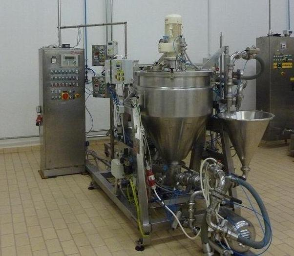 JACKETED VACUUM MIXING / PROCESSING VESSEL