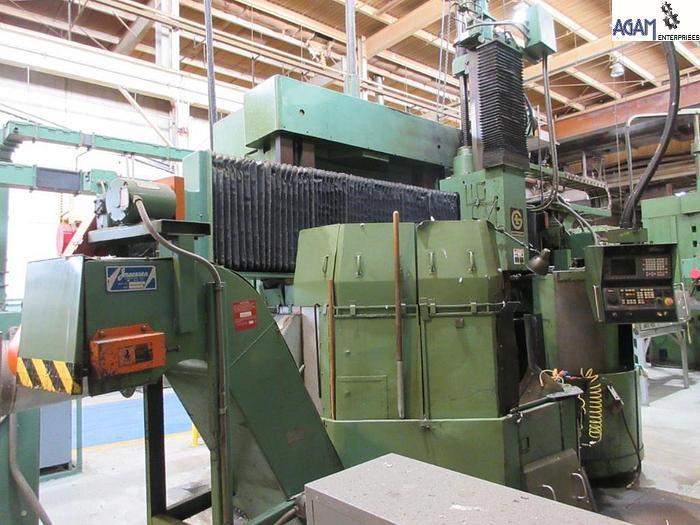 Used Giddings & Lewis 48 CNC VTL