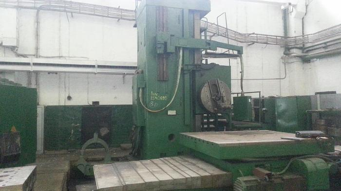 Used Borer Horizontal Table Type AFC130