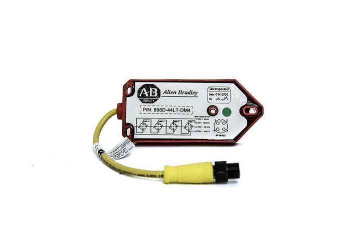 Allen Bradley 898D-44LT-DM4 4 Port Dual Channel Receptacles (4098)