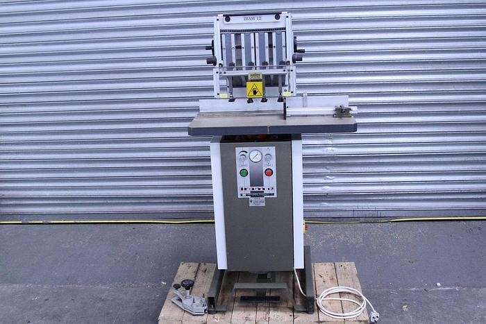 Used IRAM 12 Four Head Paper Drill