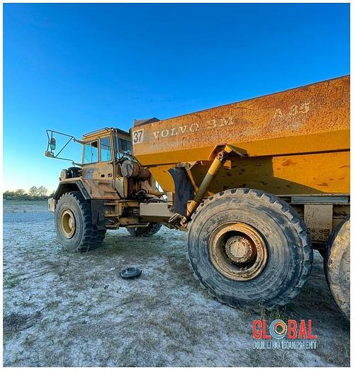 Used Item 0937 : Volvo A35 6x6 Off Road Dump Truck