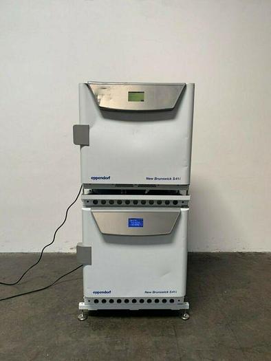 Used Eppendorf New Brunswick S41i Dual Stacked CO2 Incubator Shaker 120V