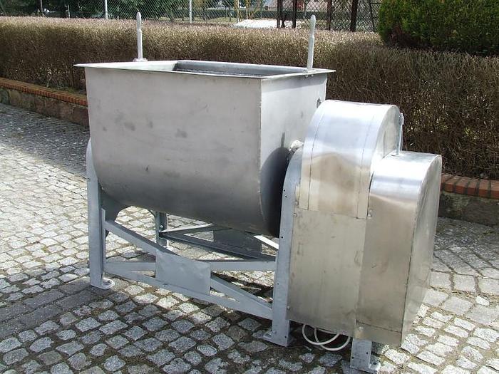 Używane Mieszałka łopatowa ze struną przeciwbieżną, pojemność 400 l