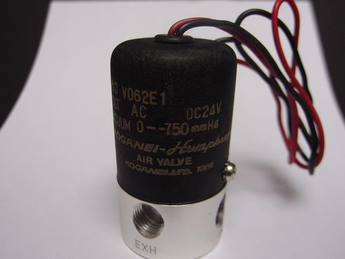 Koganei V062E1 Pneumatic Air Valve 14.5 psi 24 VDC NEW (3886)
