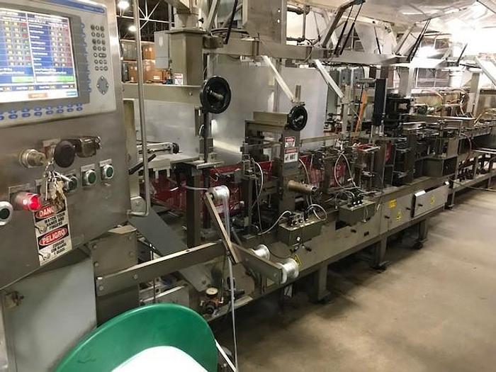 Used ROBERT C-1000 HORIZONTAL POUCH MACHINE