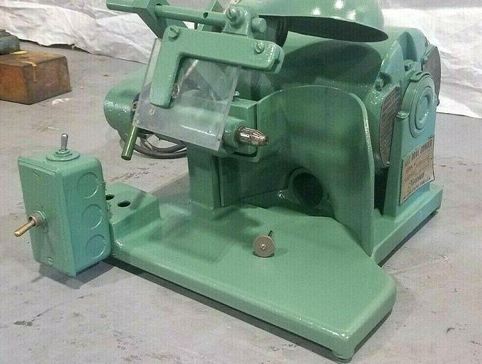 Used DEMCO Niranium Belt Drive Grinder Mini Polishing Machine Spindle Needs Repair!