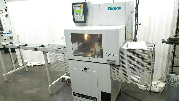 Used 2010 Bimax Klingelhofer TA91-P250 AUTOMATIC Programmable Precision Cut Off Saw