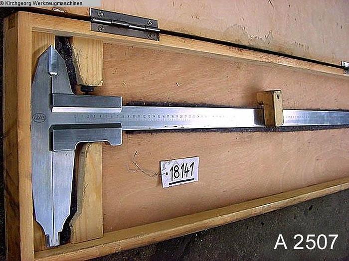 Gebraucht A2507 - Schieblehre MAHR 1500 mm