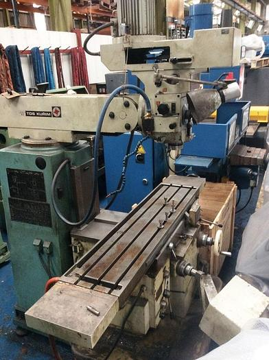 Used TOS FNK25A Turret Milling Machine