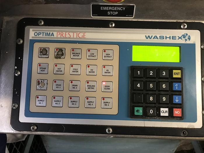 1998 Washex 240lb split pocket washer
