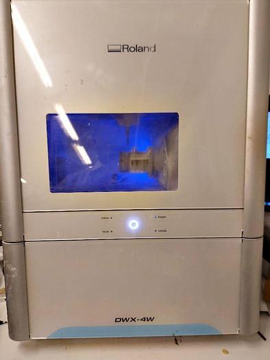 Used Roland DWX 4W - 3D printer - 2016