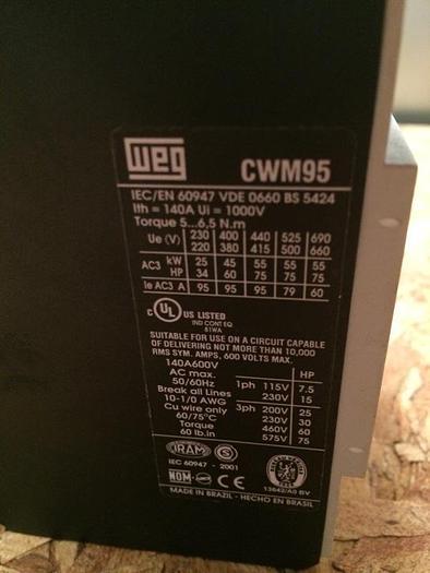 Capstone Turbine DPC Contactor for C60 Microturbine
