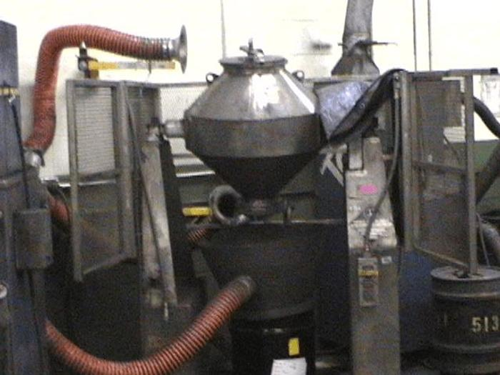 Used 3 CU. FT. PATTERSON KELLEY DOUBLE CONE BLENDER – S/S – 170# – #7735