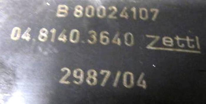 TRAUB TNS 65 ZETTL angetr. WZ VDI 40