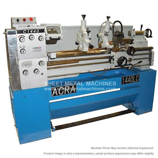 ACRA Precision Gap Bed Engine Lathe 1440LC