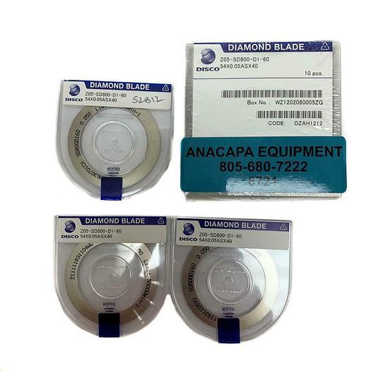 Disco Diamond Blade Z05-SD800-D1-60, 54X0.05ASX40, NEW Lot of 13 (6721)W