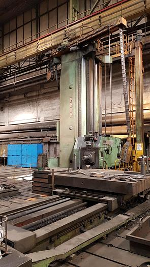 Used 1980 Horizontal boring and milling machine PAMA ACC 180-420 NC