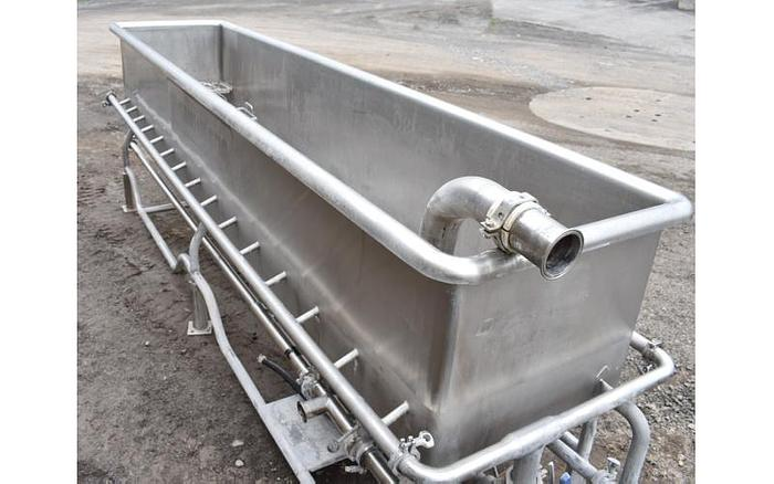 USED 250 GALLON CLEAN OUT OF PLACE ''COP'' SYSTEM, 304 STAINLESS STEEL