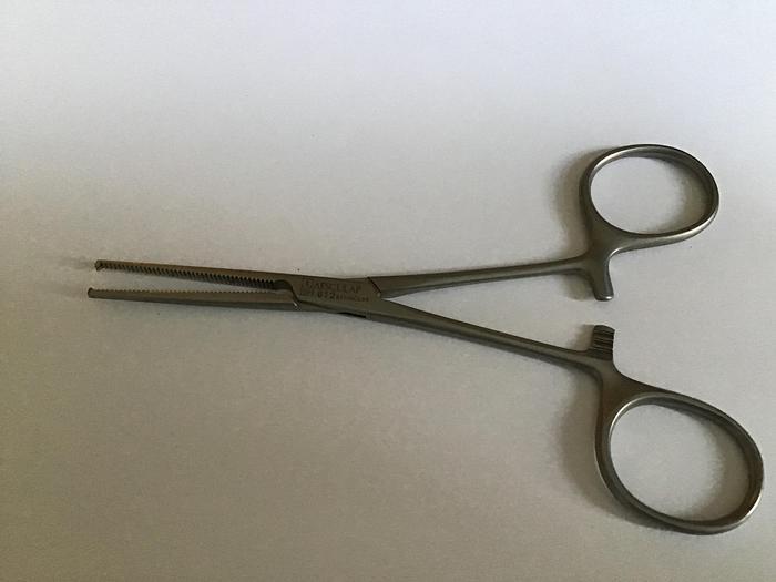 Used Aesculap Kocher Artery Forcep 1x2 teeth 135mm BH612