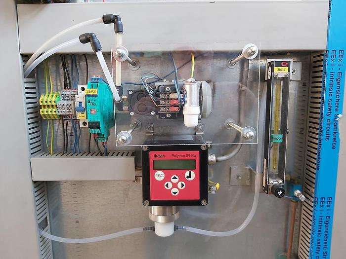Gebraucht Komplette Gas Messstation inkl. Polytron IR Ex, Dräger,  gebraucht